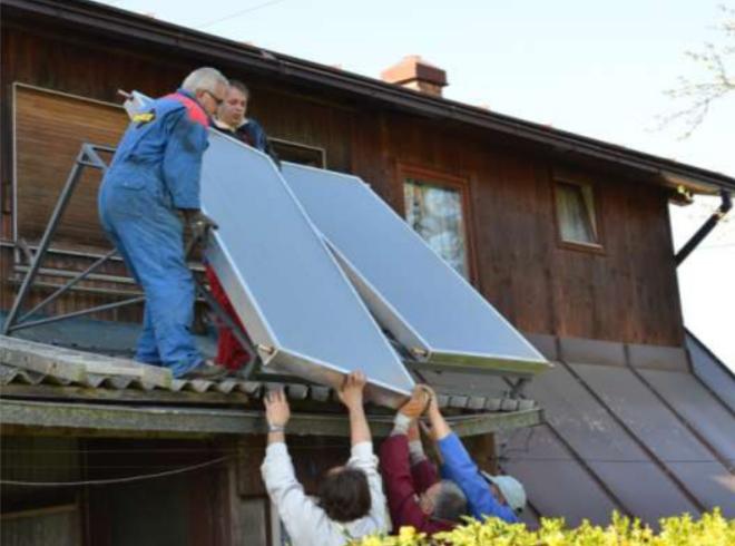 Uvođenje solarnih sistema za toplu vodu na tržište u regionu Tuzle