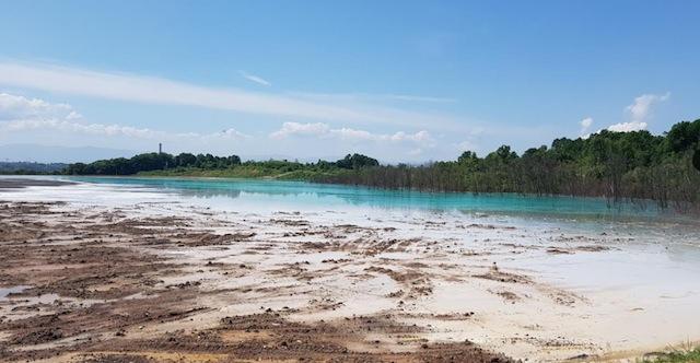 """Tehnološke otpadne vode sa deponije šljake i pepela """"Jezero II"""" Termoelektrane Tuzla se neprečišćene izlijevaju u rijeku Jalu"""