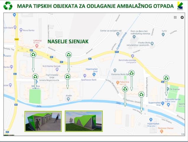 Počela primarna selekcija otpada u naselju Sjenjak i dijelu naselja u Slavinovićima
