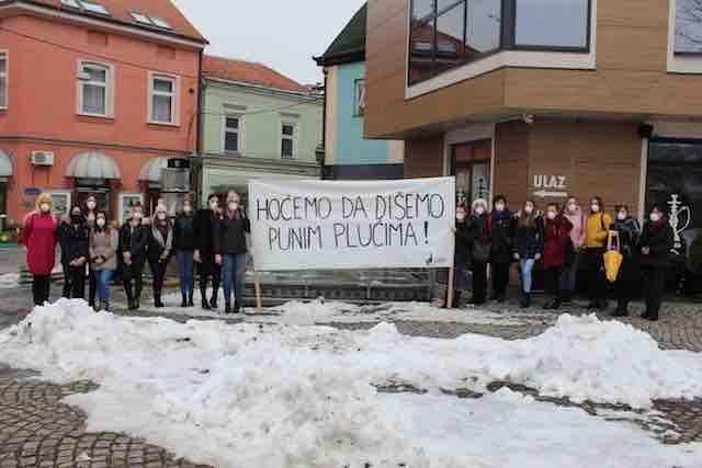 """Kampanja """"HOĆEMO DA DIŠEMO PUNIM PLUĆIMA!"""""""