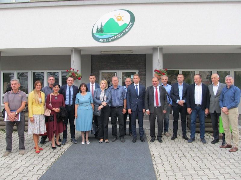 Zvanično obilježen početak realizacije SUBREC projekta koji partnerski realiziraju Užice i Tuzla