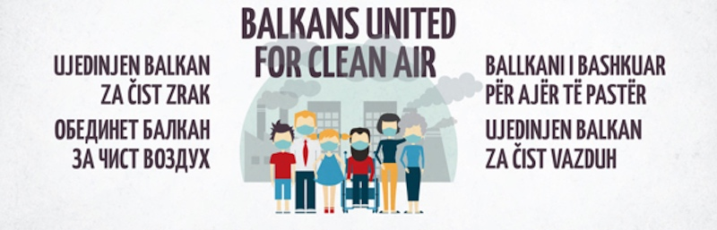 """Zašto kampanja """"Ujedinjeni Balkan za čist zrak""""?"""