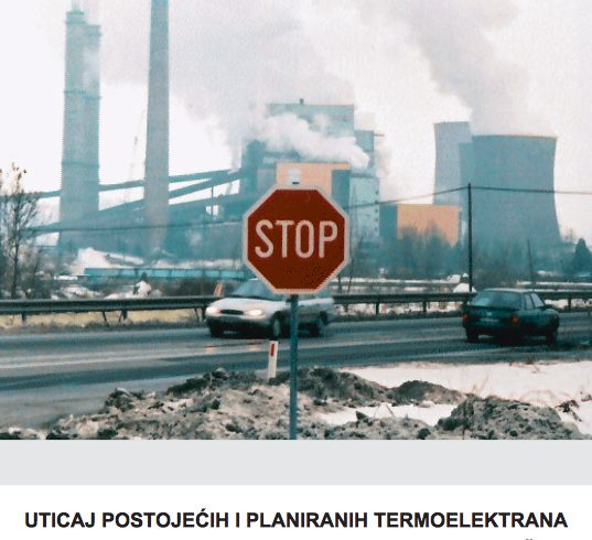 Uticaj termoelektrane na zdravlja stanovništva