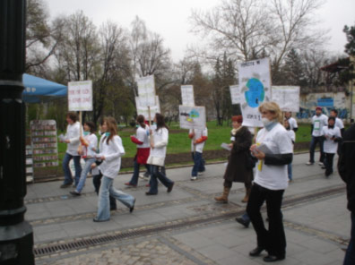 Luftmonitoring in Tuzla Rapport