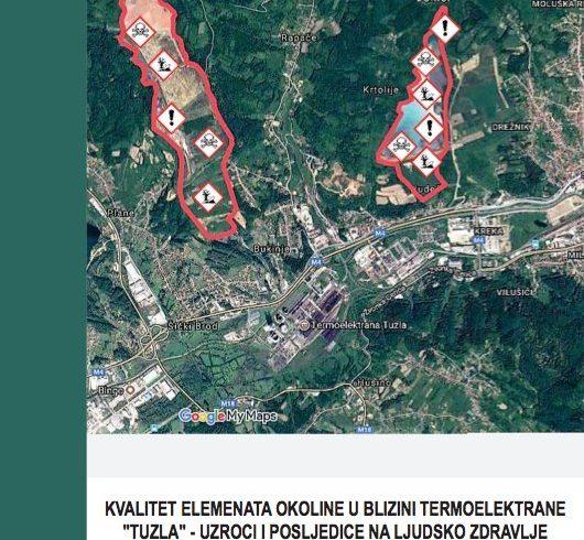 Kvalitet elemenata okoline u blizini TE Tuzla