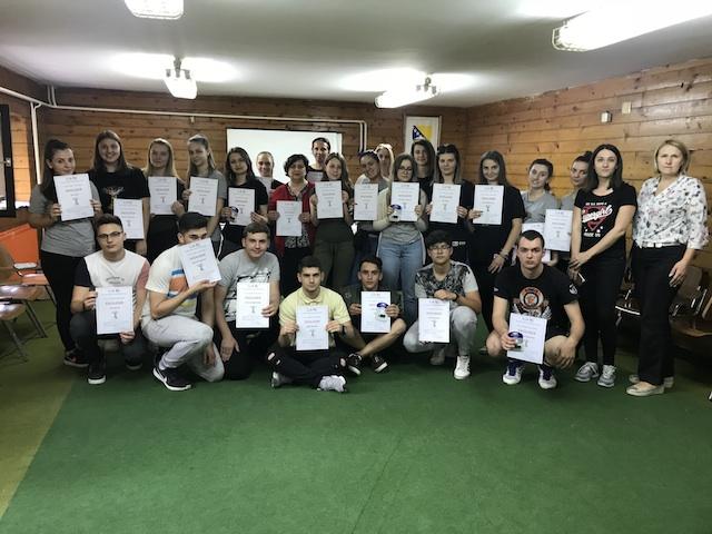 Održan Eko kamp na Zlači za učenike iz tri škole iz Tuzle, Brčkog i Odžaka