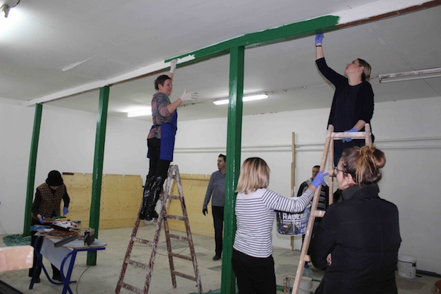 Uređenje radionice za praktičnu nastavu u Građevinsko-geodetskoj školi je ušlo u završnu fazu