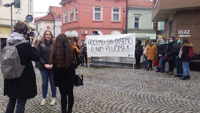 """""""HOĆEMO DA DIŠEMO PUNIM PLUĆIMA!"""" Kampanja protiv uticaja individualnih ložišta na zagađenje zraka"""