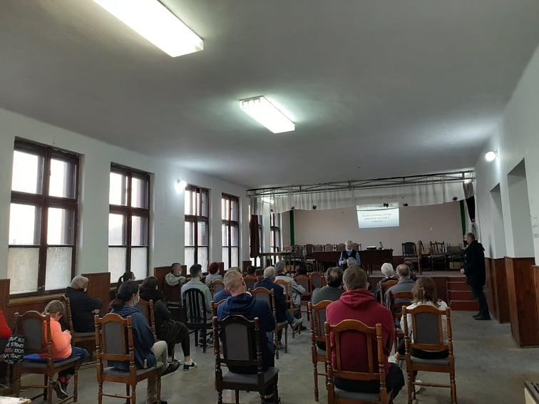 """Održana peta prezentacija """"Analiza stanja zagađenja zraka u odnosu na okolinsku dozvolu za velike zagađivače okoliša"""" u MZ Hrvati"""